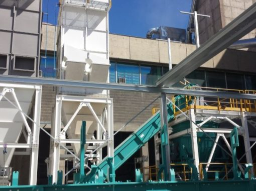 Industry/ Cement – Lafarge Holcim Port la Nouvelle, France – Chlorine by-pass installation & solid shredded waste workshop, engineering and mechanical erection