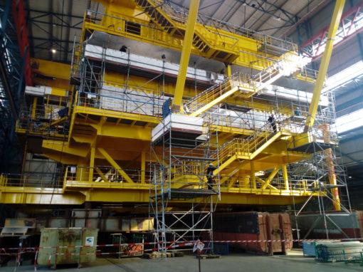 Energy/ Wind power – Deutsche Bucht Offshore Substation, Vlissingen, Netherlands – electrical installation