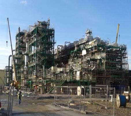 Oil&Gas/ Refineries – DGO5 TOTAL RN, Le Havre, France – electrical and instrumentation