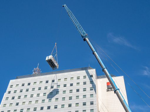 Building infrastructure/ Office buildings – BRD Tower Bucharest, Romania, upgrade of HVAC system