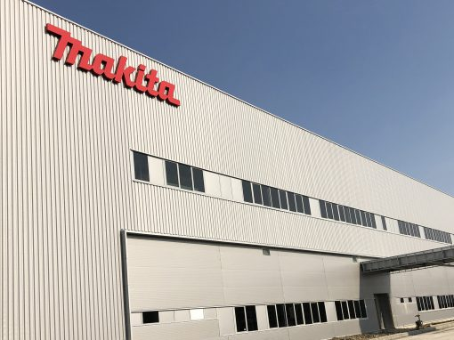Industry – Makita Branesti, Romania – LV and MV electrical installations for production plant