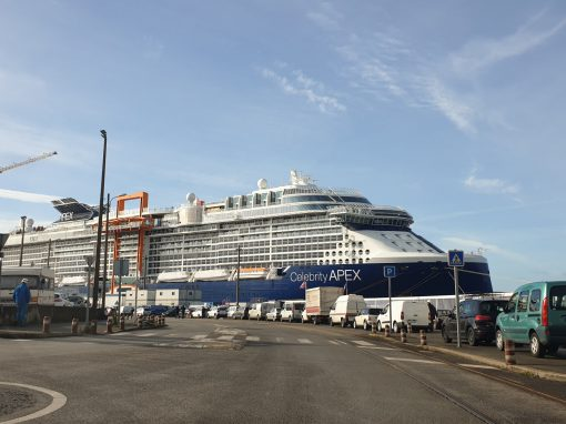 Maritime/ Shipbuilding – Celebrity APEX cruise ship St. Nazaire, France – electrical installations, HVAC and piping