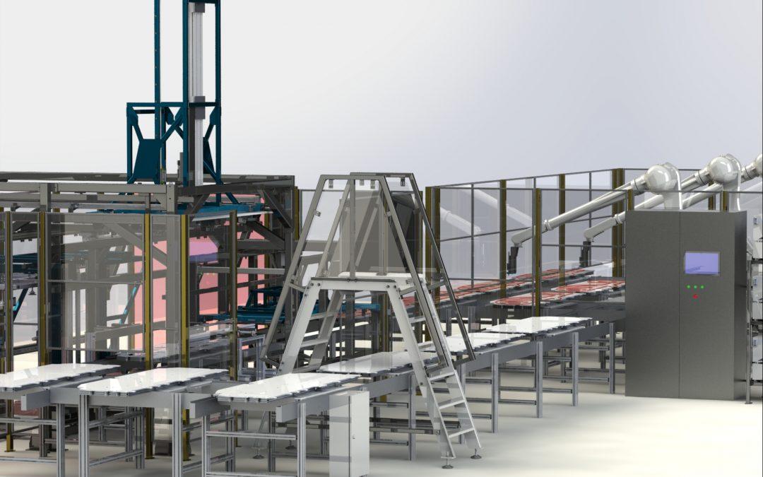 Industrie / Automotive OEM           – Joyson Safety Systems (fosta Takata) – Sibiu, Romania – celula robotizata lipire airbaguri laterale: proiect la cheie